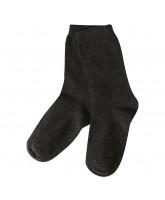 Graumelierte Socken