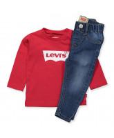 Jeans/Langarmshirt Geschenkbox