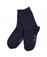 Socken aus Bambus in Navy