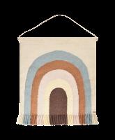 Follow the Rainbow Wand-Teppich