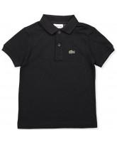 Polo T-Shirt in Schwarz
