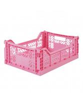 Faltschachtel Midi - Baby Pink