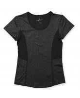 Leo-T-Shirt in Schwarz - Für Erwachsene