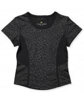 Leo-T-Shirt in Schwarz