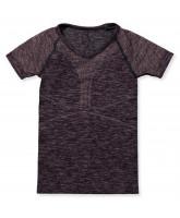 Bodydry T-Shirt in Grape Wine