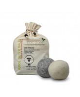 4er Pack Bio-Wollbälle
