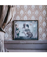 Poster Miss Poppy - 50x40 cm
