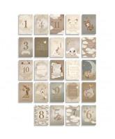 Milestone Cards - 24 Absastz