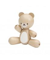 Teddybär aus Holz