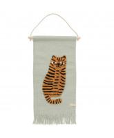 Wand-teppich Tiger