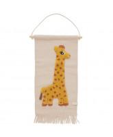 Wand-teppich Giraffe