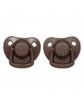 2er-Pack Schnuller in Chocolate  0-6 Monate