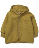 Bio Fleece-Jacke aus Wolle