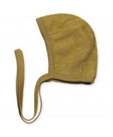 Bio Fleece-Babymütze aus Wolle