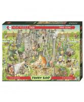 Puzzle Jurassic Habitat - 1000 Teile