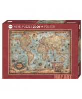 Puzzle The World - 2000 Teile