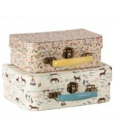 2er-Pack Koffer aus Stoff