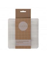 3er-Pack wiederverwendbare Snackbeutel - 400 ml.