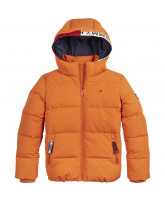 Winterjacke in Orange
