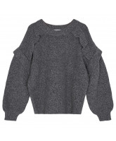 Pullover Silvia Panel aus Wolle