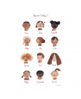 Poster - Emotionen 50x70 cm