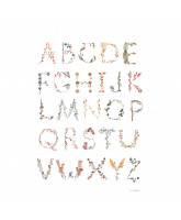 Poster - Alphabet 50x70 cm