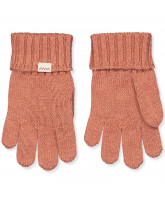 Fingerhandschuhe Aske mit Wolle