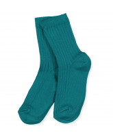 Ripp-Socken in Atlantic Deep