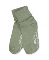 Stoppersocken in Light Olive