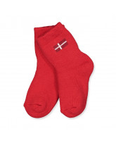 Socken DK in Rot