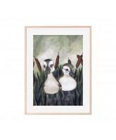 Poster Duck Friends 30x40 cm