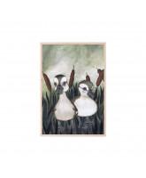 Poster Duck Friends 21x30 cm