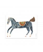Wanddekoration Pelle Pony